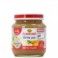 Babybrei Birne pur für Babys nach dem 4. Monat (125g)