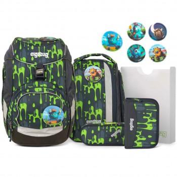 Schulrucksack pack flexibel GlibbBär Monster 6 tlg