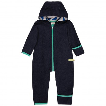Warmer Fleece Overall Robben navy
