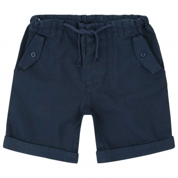 Navy Outdoor Twill Shorts robust