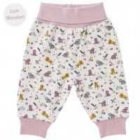 Warme Wendehose Baby Tiger in beige