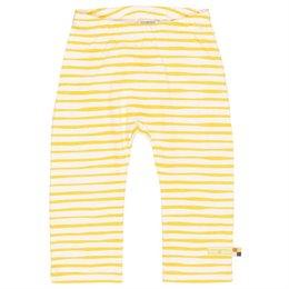 Leichte Leggings Tiger-Streifen gelb