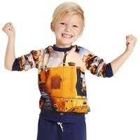 Bulldozer Kinder Pullover Sweatshirt
