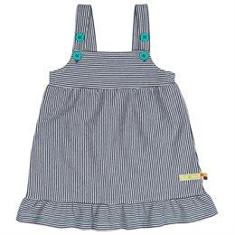Kleid ohne Arm super leicht marine neutral