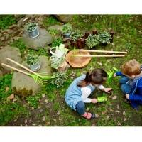 Vorschau: Hochwertiges 3-teiliges Set Hand-Gartengeräte