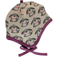Babymütze warm zum Binden Hunde