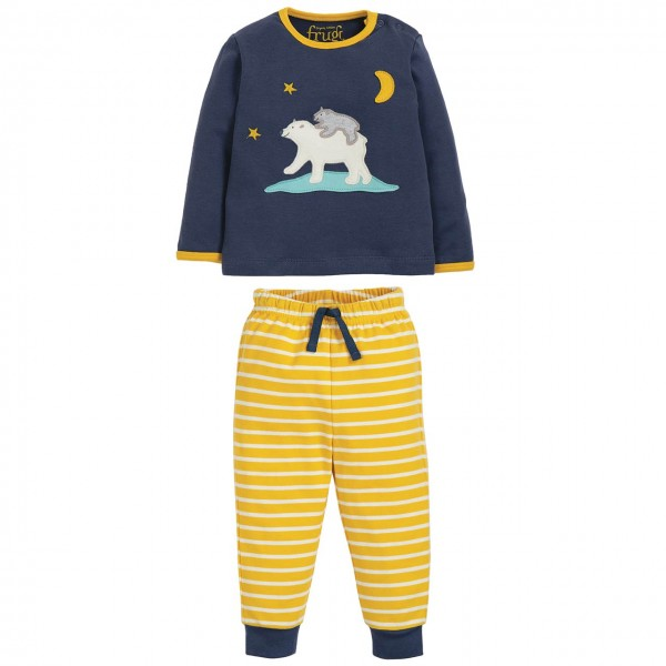 Baby Bio Schlafanzug Eisbär