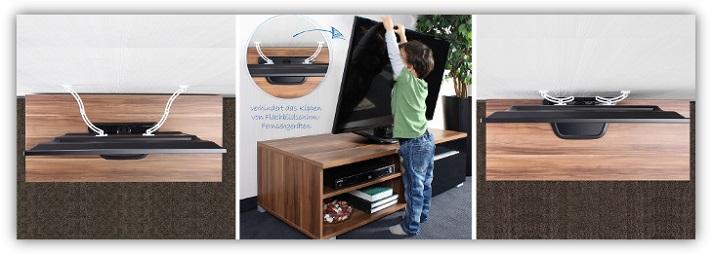 Fernseher-TV-Kippsicherung-fuer-Kindersicherheit-reer-Ratgeber-greenstories-Kindersicherheit