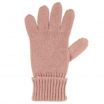 Kinder Handschuhe altrosa Strick