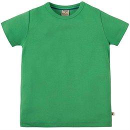 T-Shirt uni hochwertig in grün