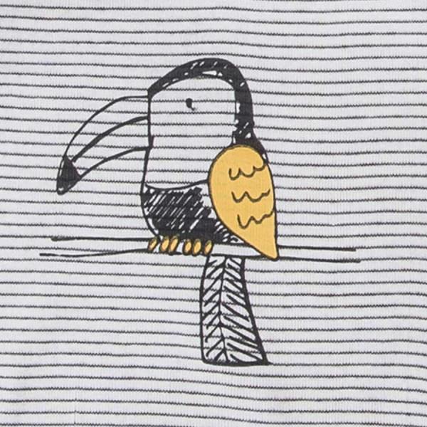 Papagei kurzarm Body