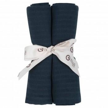 Stoffwindel 2er-Pack dunkelblau