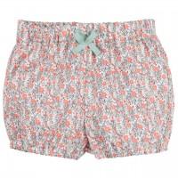 Baby Shorts Popeline mit Blumen