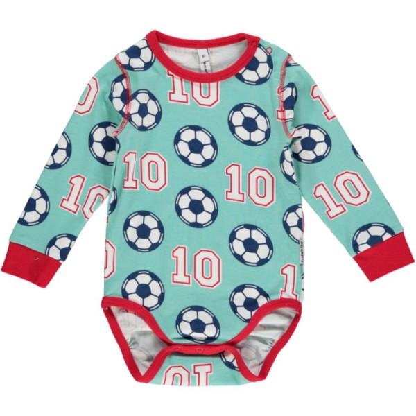 Fußball Bio Babybody langarm