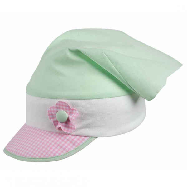 Bio Kopftuch für Babys & Kleinkinder von pure pure - hellgrü