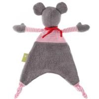 Vorschau: Bio Schnuffeltuch Maus Sigikid