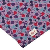Vorschau: Grosses 50 cm Halstuch Kopftuch Binden lila