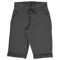 Sweat Shorts knielang - cool, sommerlich und robust grau