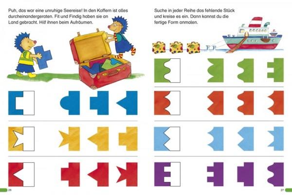 Logik / Denkspiele ab 4 Jahre Mitmachbuch