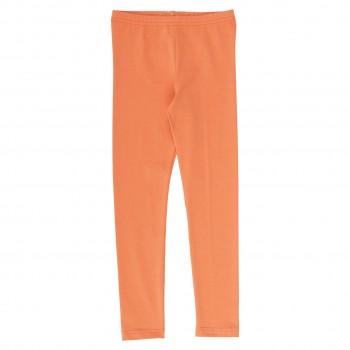 Basic Leggings in hellem apricot-orange