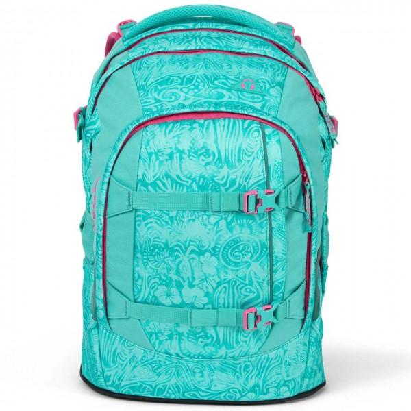 Schulrucksack ergonomisch satch pack Aloha Mint - 30l
