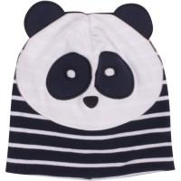 Panda Kindermütze elastisch Übergangszeit