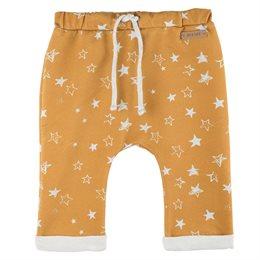 Coole leichte Sternen Hose lässig senf