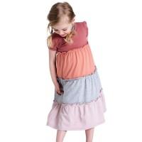 Hochwertiges Kleid Pastelltöne