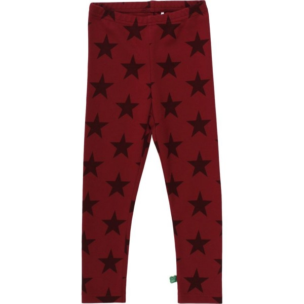 Sternen Leggings bordeaux Interlock