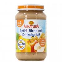 Apfel-Birne mit Dinkelgrieß ab 5 Monaten (190 g)