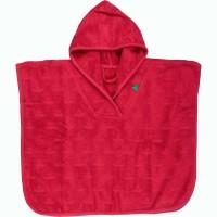 Poncho oder Strandtuch mit Kapuze