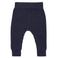 Baby Strickleggings marine