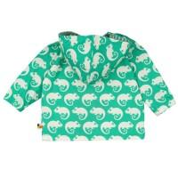 Vorschau: Jacke mit Abperleffekt für Sommer & Übergangszeit grün