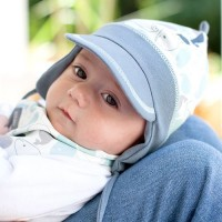 Elastische Mütze softer Ohrenschutz zum Binden