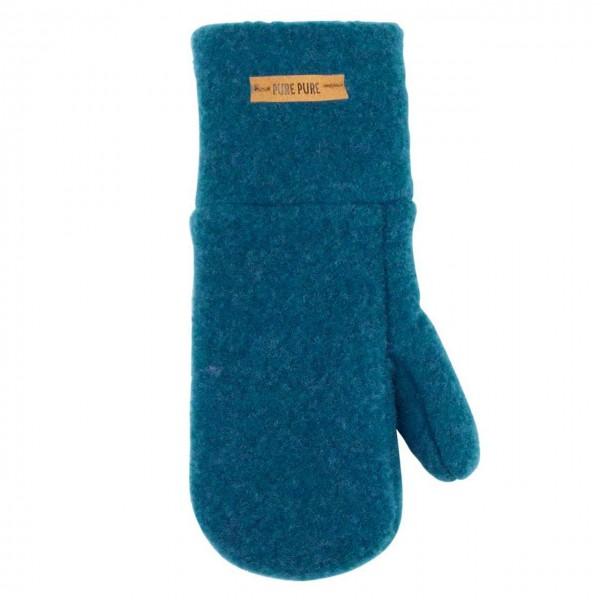 Petrol Kinder Handschuhe Wolle