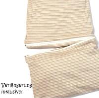 Vorschau: Sommerschlafsack atmungsaktiv & mitwachsend 80-110 cm
