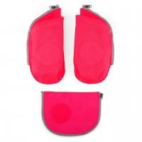 Seitentaschen für ergobag Schulranzen pink