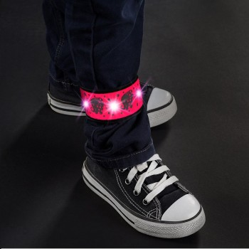 LED Klackband My Twinkle Guard pink