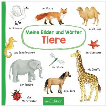 """Erstes Wörterbuch """"Tiere"""" – Babybuch ab 18 Monate"""