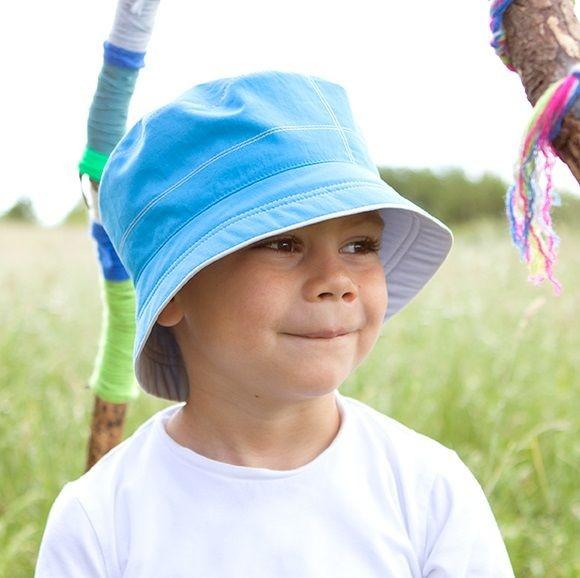 Jungen Wendemütze Bio Sommermütze von pure pure