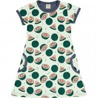 Süsses Wassermelonen Kleid kurzarm in grün
