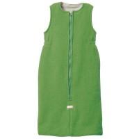 Vorschau: Ganzjahres Baby Schlafsack Schurwolle grün