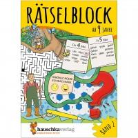 Rätselblock – Rätselspaß für Kinder ab 9 Jahre Bd 2