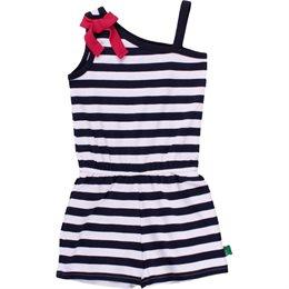 Kleid Einteiler mit Shorts und Raffung