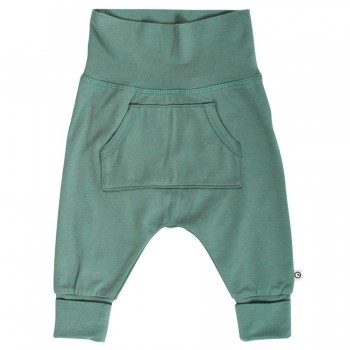 Hochwertige, edle Babyhose pastell-grün