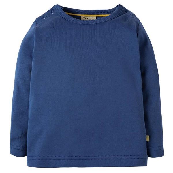 Robustes langarm Shirt blau