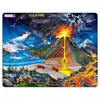 Lernpuzzle Vulkane für Kinder ab 5 Jahre