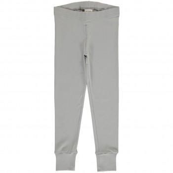 Bündchen Leggings in dusty grey