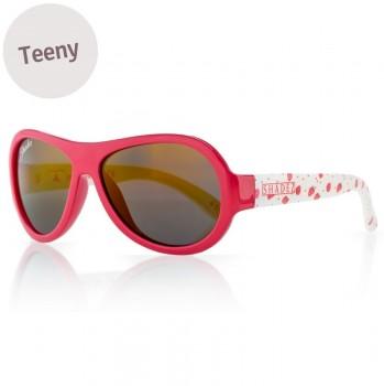 Sonnenbrille 7-16 Jahre schadstofffrei Erdbeer rot