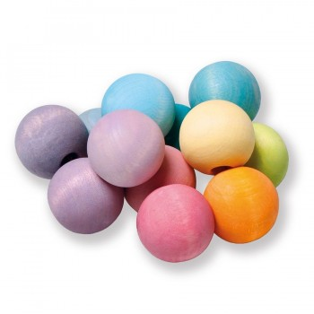 Grimms Kugelgreifling pastell Babyspielzeug
